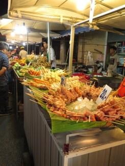 Night markets in Krabi