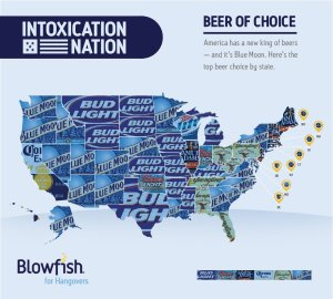 Blue Moon is America's new beer of choice...