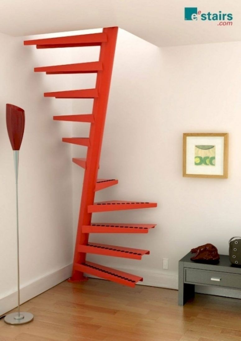 50 Uniquely Awesome Spiral Staircase Ideas For Your Home   Spiral Staircase Design For Small Spaces   Diseños   Cool   Tiny House   Attractive   Beautiful