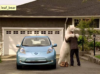 There will be an actor in a bear suit at City Hall tomorrow, along with the Leaf.