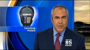 "Ken Bastida solved the mystery of the ""vanishing meters."" Image: KPIX"