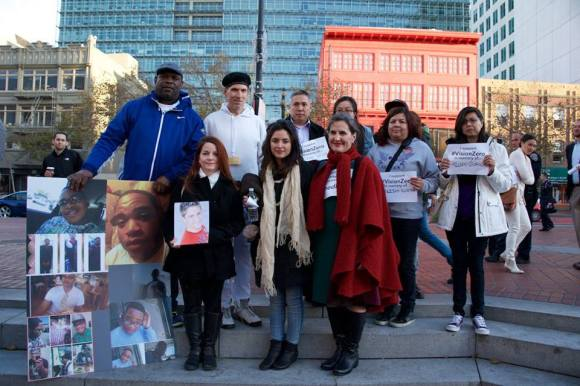 San Francisco families remember loved ones killed on our streets. Photo courtesy of Walk San Francisco.