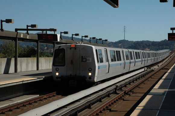 BART will get a top-to-bottom revamp if the November bond passes. Image: Wikimedia Commons