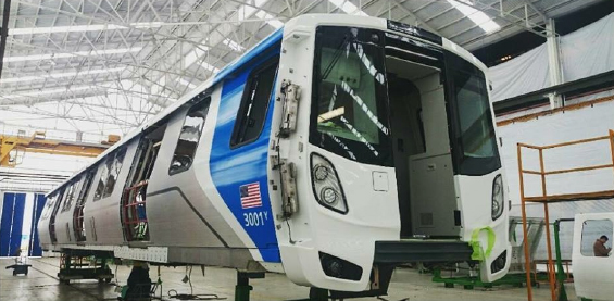 BART is hoping to get over 700 new cars over the next few years. Image: BART.