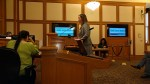 Emily Stapleton, general manager at Bay Area Bike Share, updates the Supervisors on the Committee. Photo: Streetsblog.