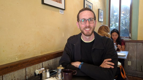 Streetsblog sat down with Supervisor Scott Wiener in an unofficial district office (Casto Tarts) on Friday. Photo: Streetsblog.