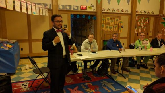 Supervisor David Campos helped kick off the forum. Photo: Streetsblog.