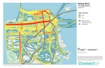 """A """"heat map"""" of where San Franciscans want to see subways. Image: ConnectSF"""