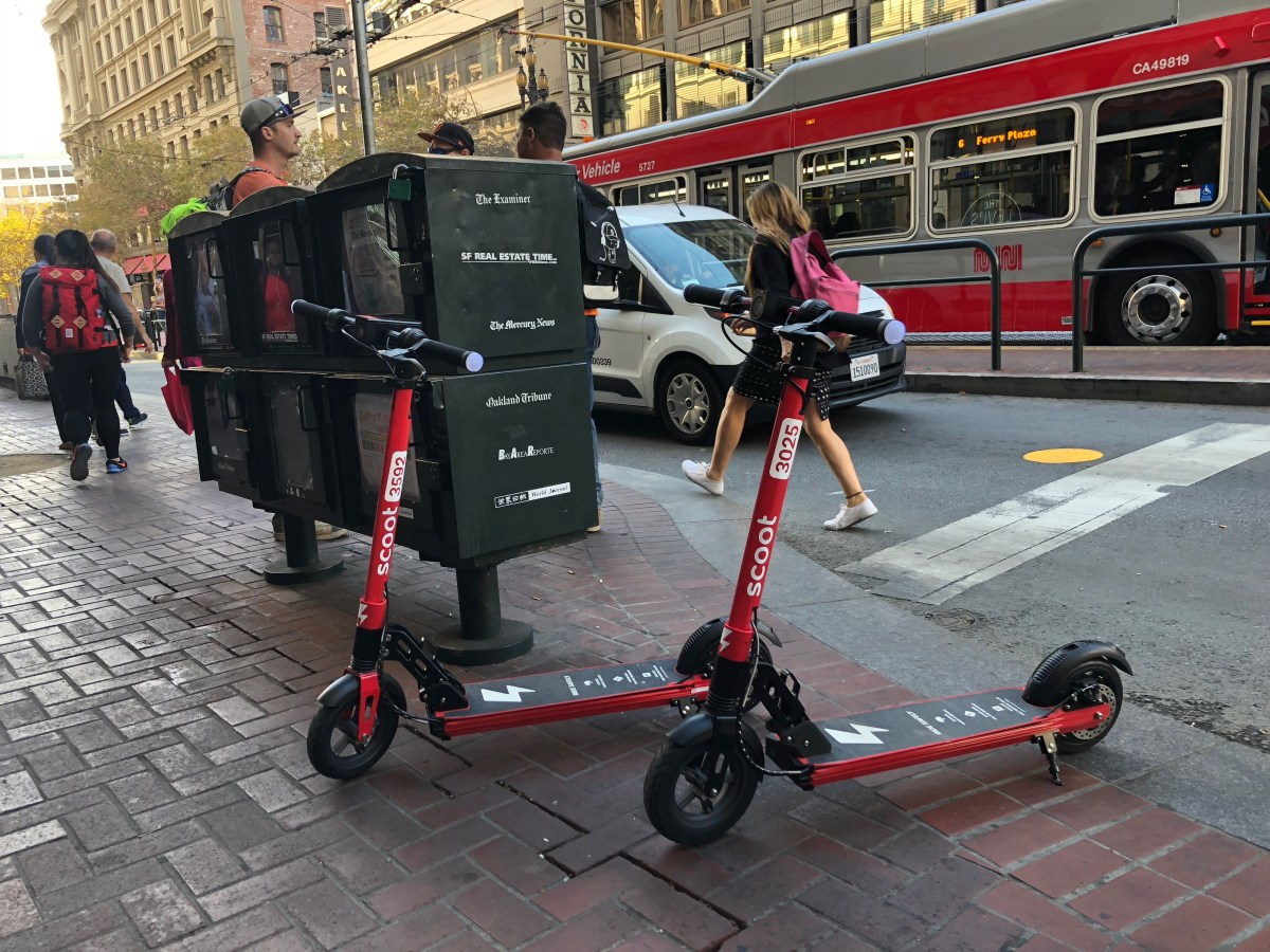 Return of the Scooters – Streetsblog San Francisco
