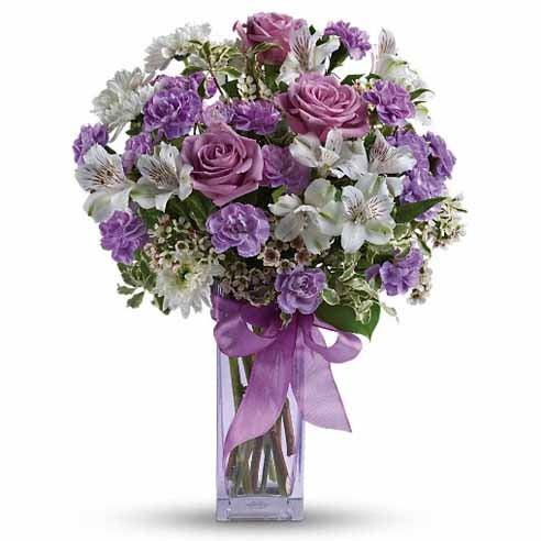 lavish lavender rose bouquet