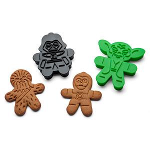 Des moules à cookies