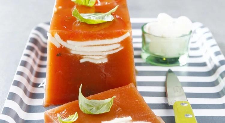Recette Facile Terrine Tomate Mozzarella