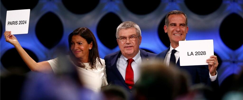 Olympisme  CIO  Revivez lattribution des JO 2024 et 2028  Paris et Los Angeles  Sport 365