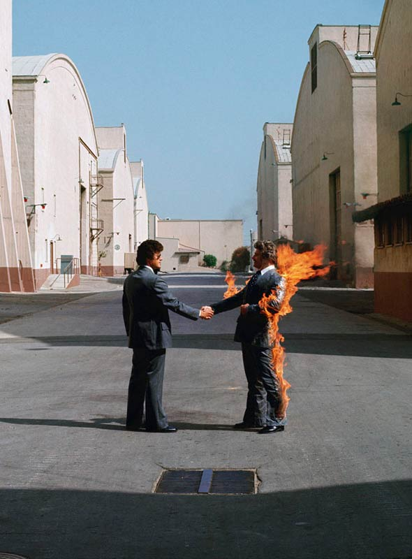Pink Floyd - Wish You Were Here : floyd, Floyd,, Album, Cover, (US),