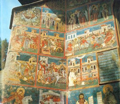 Pictura Manastirii Voronet