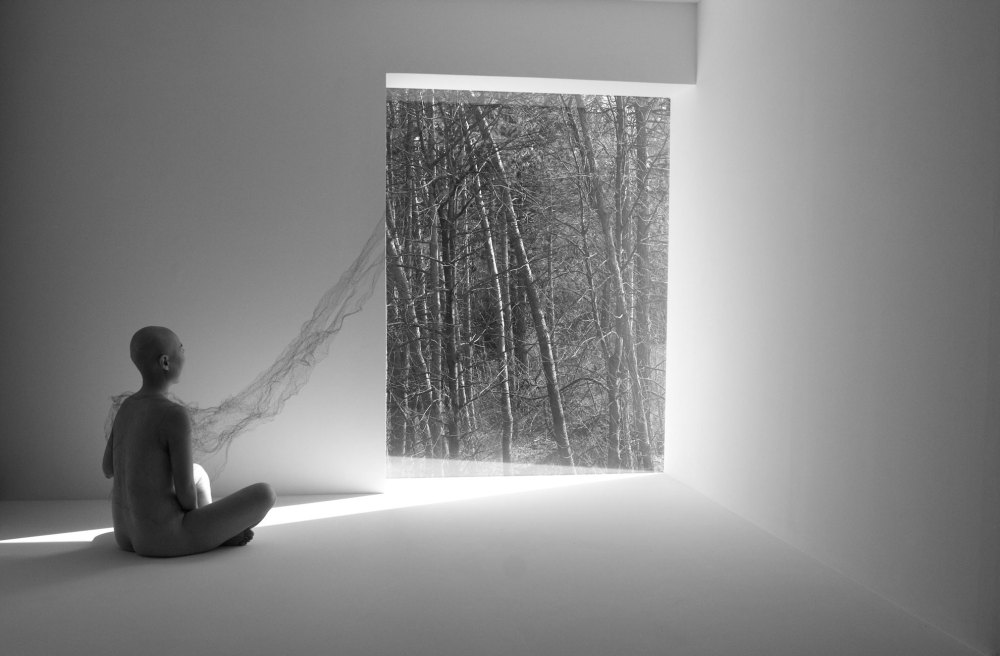 Jayoung Yoon, Watching the Mind (2009, Two-channel video)