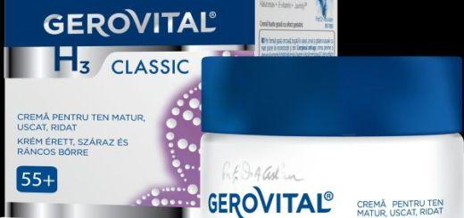 Crema pentru ten matur, ridat si uscat_Gerovital GH3 Classic