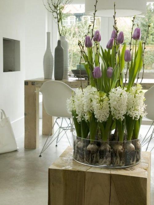decorarea casei cu flori de primavara 6
