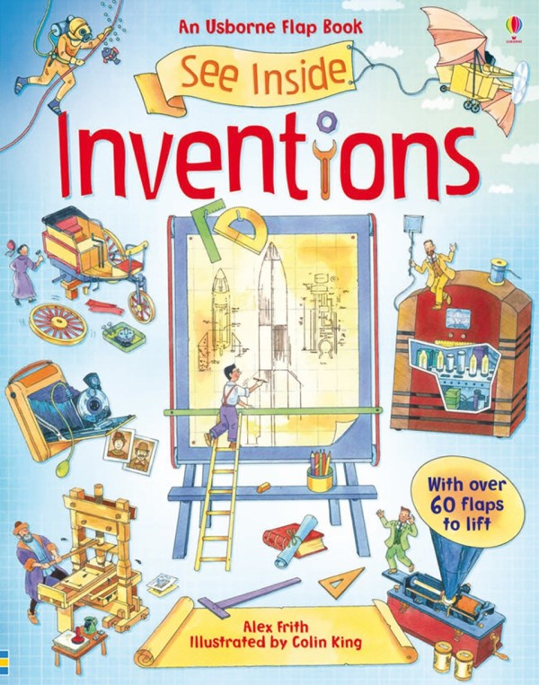 """See inside inventions"""" at Usborne Books"""