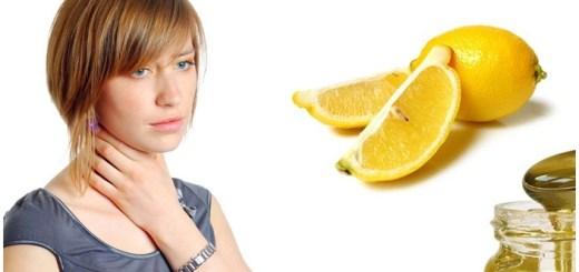 Remediu naturist cu lamaie pentru dureri de gat si raguseala