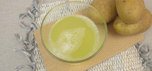 Sucul de cartofi, cel mai bun medicament pentru bolile de stomac si nu numai