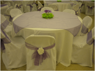 tablecloths and chair covers dining room at target skirting overlays bows picture