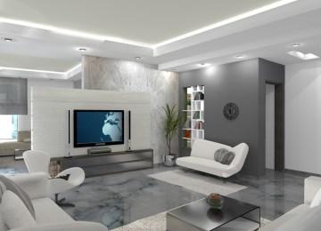 Decoration Salon Moderne De Luxe | Comment Choisir La Couleur Du ...