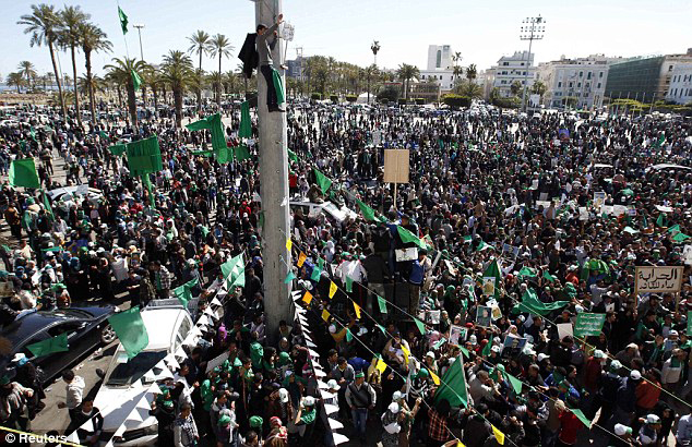 A million march in Tripoli against NATO