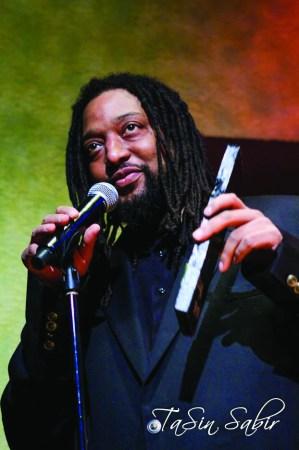 Black Media Appreciation Night Kevin Weston receives award Yoshi's 112612 by TaSin Sabir