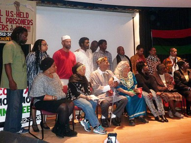 Families of PPs Malcolm X Commemoration Cmte 17th Annual Tribute to Political Prisoners NYC 011913