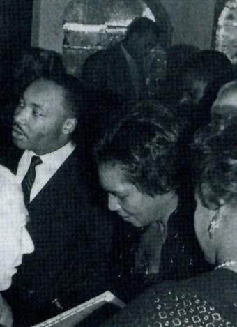 Martin Luther King, Claudia Jones