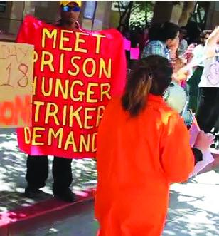 Pelican Bay hunger strike rally CDCR HQ Sacramento 071811-2 by Grant Slater, KPCC