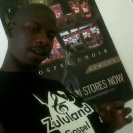 Phumlani Wackomagic Banda, co-founder of Zululand Gospel Choir