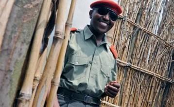 Bosco Ntaganda arrives mountain base Kabati DRC 011109 by Lionel Healing, AFP