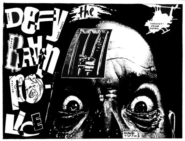 'Brain Police' by Rashid Johnson, web