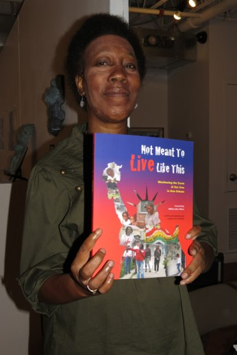 Pat Denson, co-author of 'Not Meant to Live Like This'