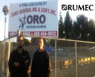 RUMEC, Toro construction