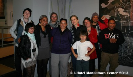Shanell Williams at I-Hotel Manilatown Center Save City College event