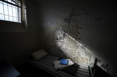 Solitary confinement cell by EPA, UWE ZUCCHI