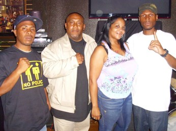 JR, Mario Lewis, unk, Malcolm in San Diego 081511 by BRR, web