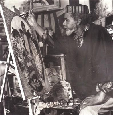 Eugene White, artist at work, web (1)