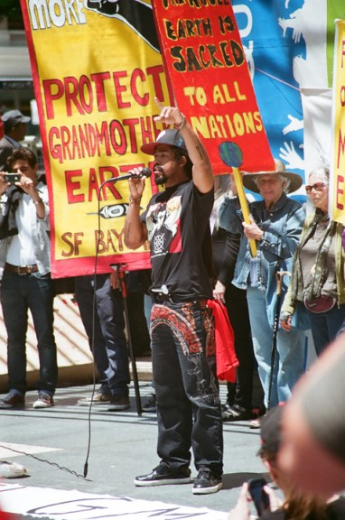 March Against Monsanto Khafre Jay rapping-3 SF 052513 by Wedrell James, web