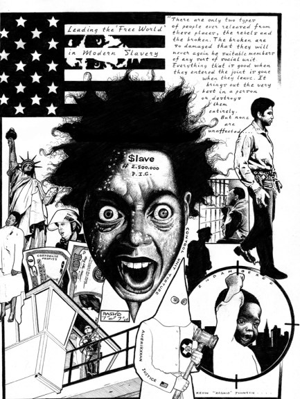 Control Unit Torture by Kevin 'Rashid' Johnson, web