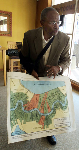 Leon Waters speaks on 1811 slave revolt, largest in US 2011