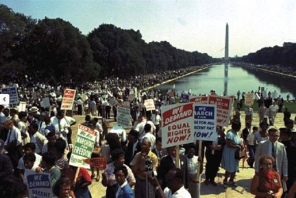 March on Washington 082863 color
