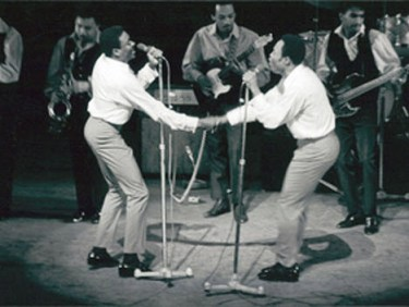 R&B singers Sam and Dave got together in Overtown, perform there 1968