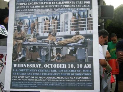 Rally to End All Racial Hostilities LA County Jail 101012-12 by Virginia Gutierrez
