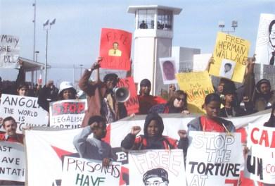 Angola 3 children's protest c. 2005