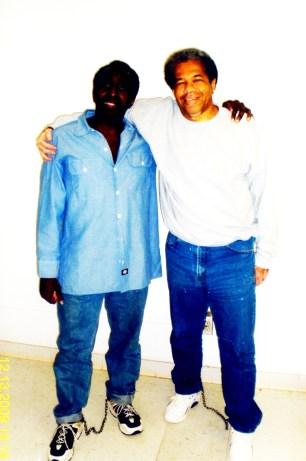 Kenny Zulu Whitmore, Albert Shaka Woodfox shackled 2009