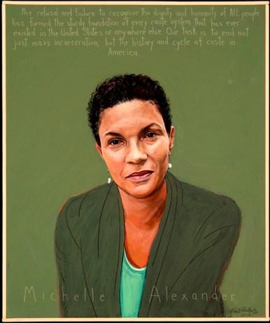 Michelle Alexander graphic, web